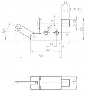 Federriegel/Rastbolzen | L. 2150