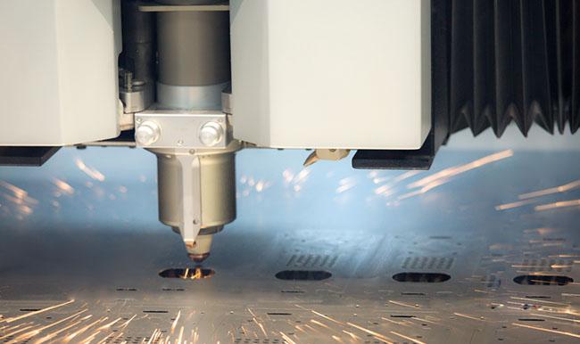 Prozess Laserschneiden