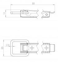 Kistenverschluss | L. 4213