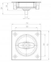 Muschelgriff ErgoPro 1   L. 6321