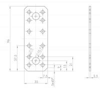 Flachverbinder   L. 8177