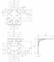Schwerlastwinkelverbinder | L. 8162
